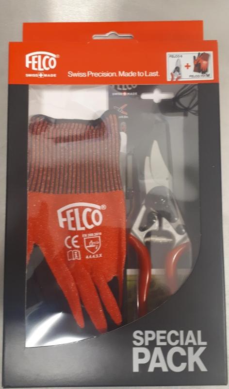 Nožnice F6 + rukavice M