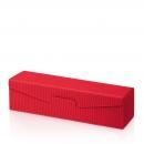 Karton na 1fl červený vrubkový
