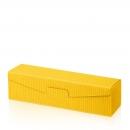 Karton na 1fl žltý vrubkový