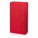 Karton na 2fl červený vrubkový