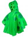 Detský pršíplášť zelený 4929